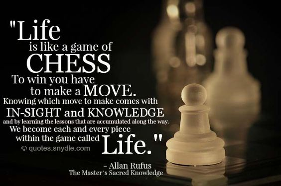 After Reaching A Goalwhats The Next Move Lifeischess
